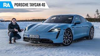 Porsche Taycan 4S (571 cv). Especial de Natal no GELO!