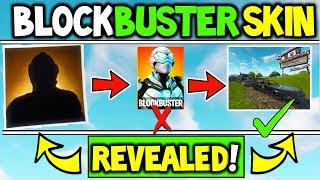 I CRACKED The Fortnite BLOCKBUSTER SKIN! - What is the Fortnite Blockbuster Skin - REVEALED (E3)