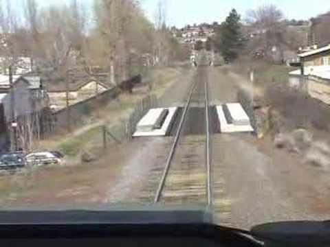 Cab Ride Union Pacific Train  Oregon Part 1 of 4