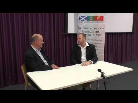 Asia Scotland Institute James Brett Interview