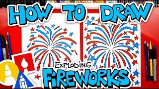 How To Draw An Exploding Firework