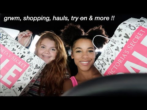 Vlog: Grwm & Come Shopping With Us! | Azlia Williams