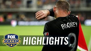 Wayne Rooney's two goals lead D.C. United | 2018 MLS Highlights