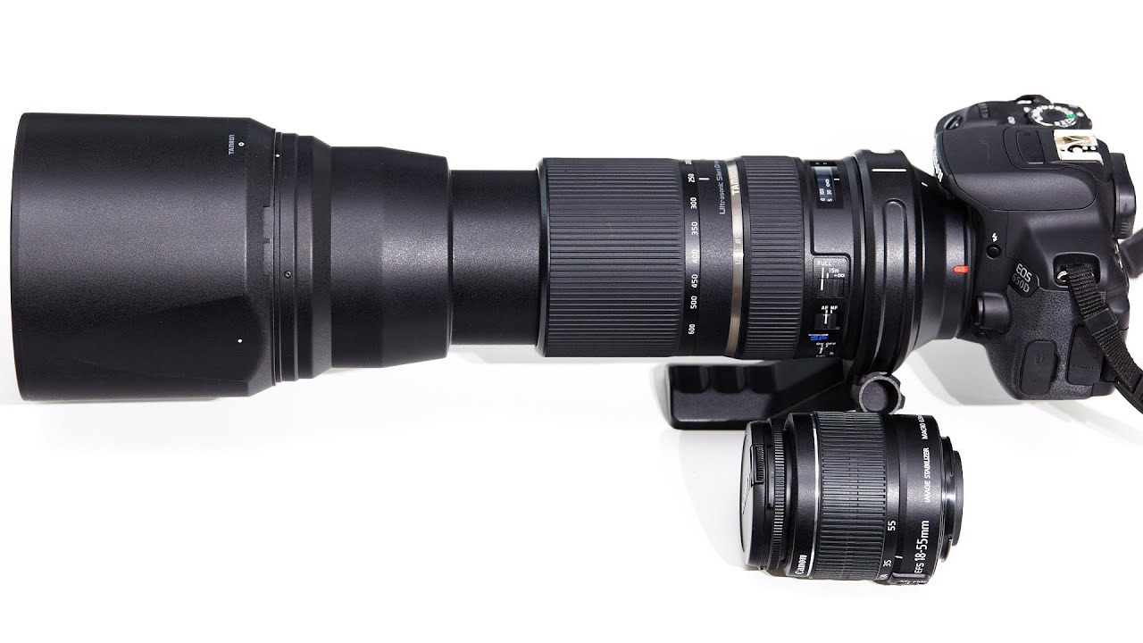 Tamron SP 150-600 mm Di VC USD - Super-Tele-Zoom-Objektiv im ...
