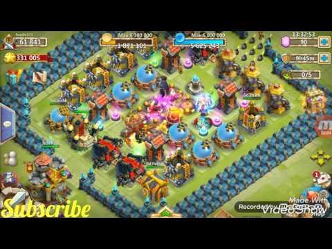 Castle Clash Review Of A Sick 61k Main Account!!!