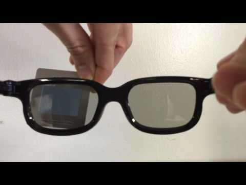 How do Real-D 3-D glasses work?