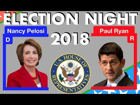 2018 Election Night | House of Representative Elections