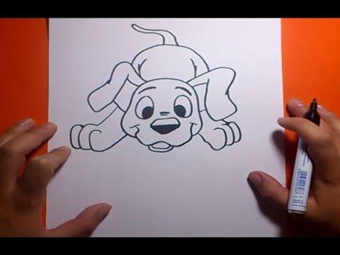 Como Dibujar Un Perro Paso A Paso 18 How To Draw A Dog 18 Youtube