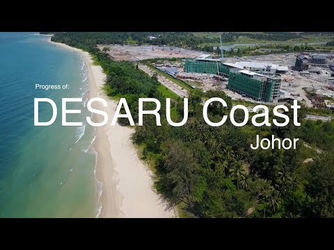 Progress of DESARU Coast as 21.08.2017