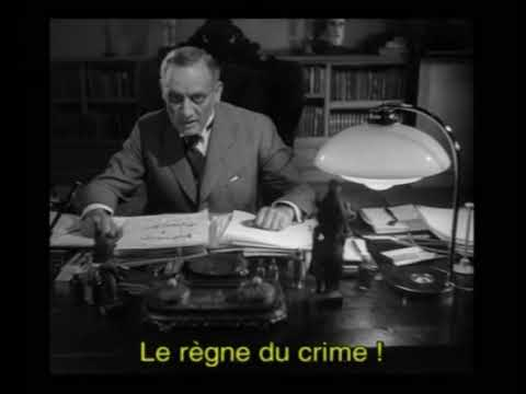 LE TESTAMENT DU DOCTEUR MABUSE 1933 poster