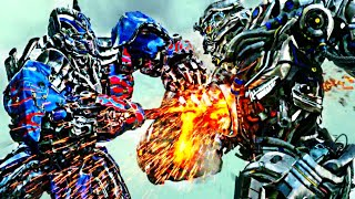 Transformers Age of Extinction  - Optimus Prime vs Galvatron and Lockdown  Scene (1080pHD VO)