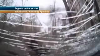 В Москве из за сильного урагана в воздухе летали кошки