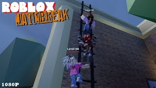 WHO'S GONNA WIN THE LADDER RACE?! Roblox JAILBREAK 93