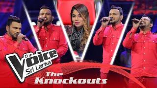 Harshana Jayasundara | Nandaneeya Pema (නන්දනීය පෙම) | The Knockouts | The Voice Sri Lanka Thumbnail