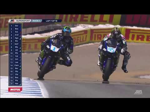 FULL RACE : Supersport Race from Mazda Raceway Laguna Seca