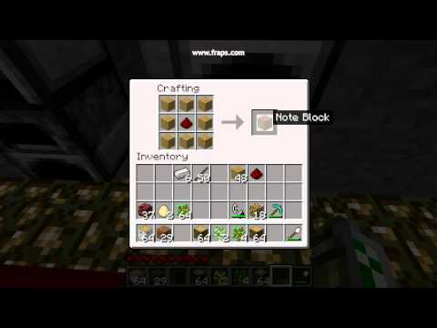 How To Craft A Music Box In Minecraft