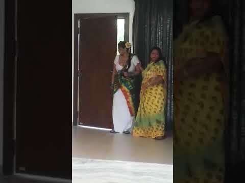 Download Behind The Scenes Video of Sapna Bhabhi Web Series in Sexy White Saree
