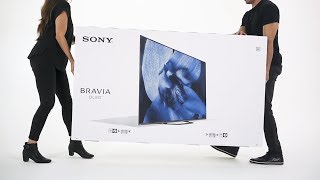 Sony - BRAVIA - Unboxing the A8G/AG8 Series