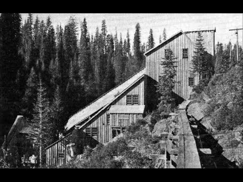 Historic Gold Mine & Mill Deep In The Forest – Part 1