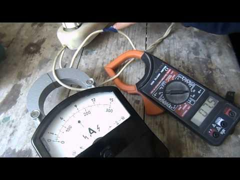 Измерение переменного тока.