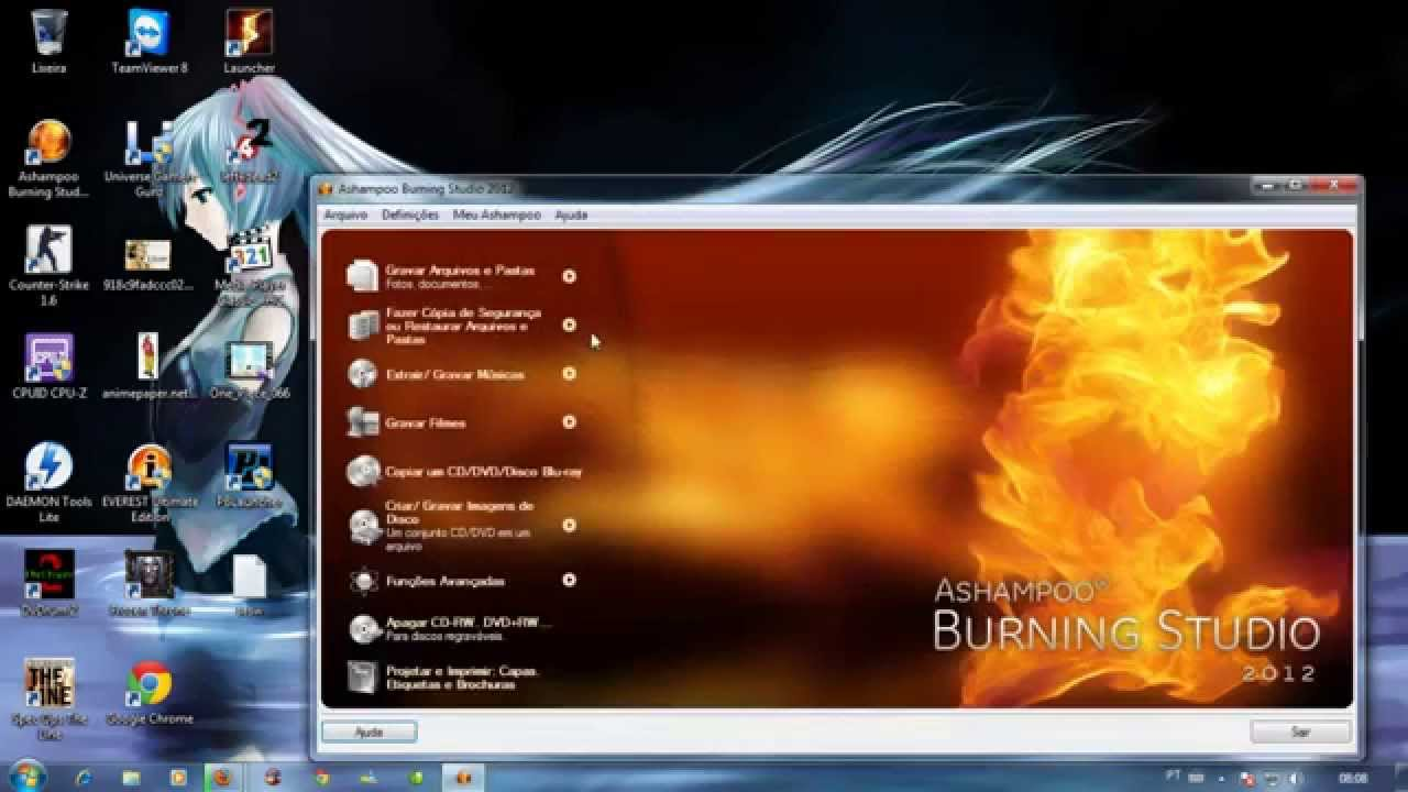 BURNING 2009 GRATIS GRATUITO ASHAMPOO STUDIO EM PORTUGUES DOWNLOAD