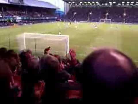 Exeter City Fans Singing Non Stop! Portsmouth v Exeter City 2nd of November 2013 (Last 20 minutes).