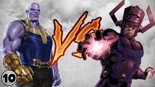 Thanos Vs Galactus