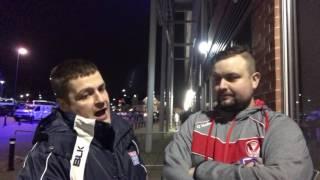 Instant Fan Reaction: Leigh Centurions 24 St Helens 16