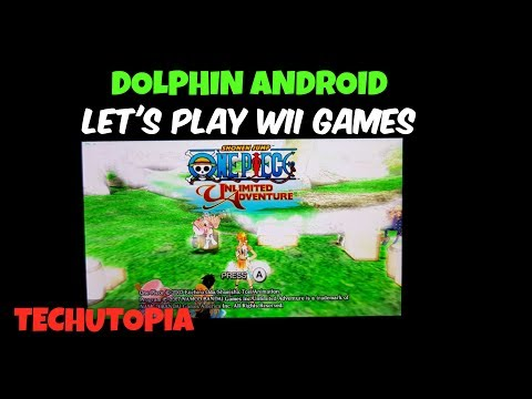 One Piece: Unlimited Adventure Android Gameplay Wii Emulator Dolphin/Snapdragon 835 smartphone/30FPS