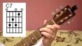 Дедок4 - как играть на гитаре - спят усталые игрушки - видео-урок для новичков