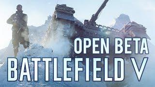 Battlefield V - PC Open Beta Gameplay streaming
