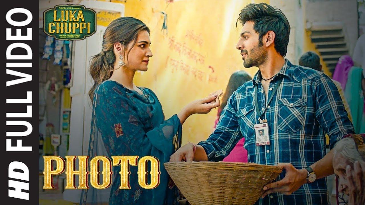 Luka Chuppi: Photo Full Video | Kartik Aaryan, Kriti Sanon | Karan S | Goldboy | Tanishk B | Nirmaan