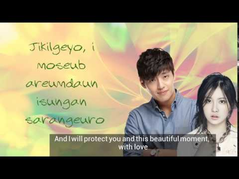 Kang Ha Neul 강하늘 & Da Hee GLAM Person, Love (사람, 사랑) [Romanization & English translation]
