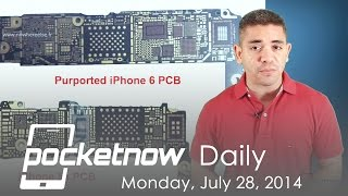 iPhone 6 hardware upgrades, Moto/Google Nexus phablet, HTC One W8 & more - Pocketnow Daily