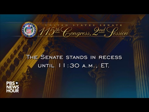 WATCH LIVE: U.S. Senate votes on the verge of a government shutdown