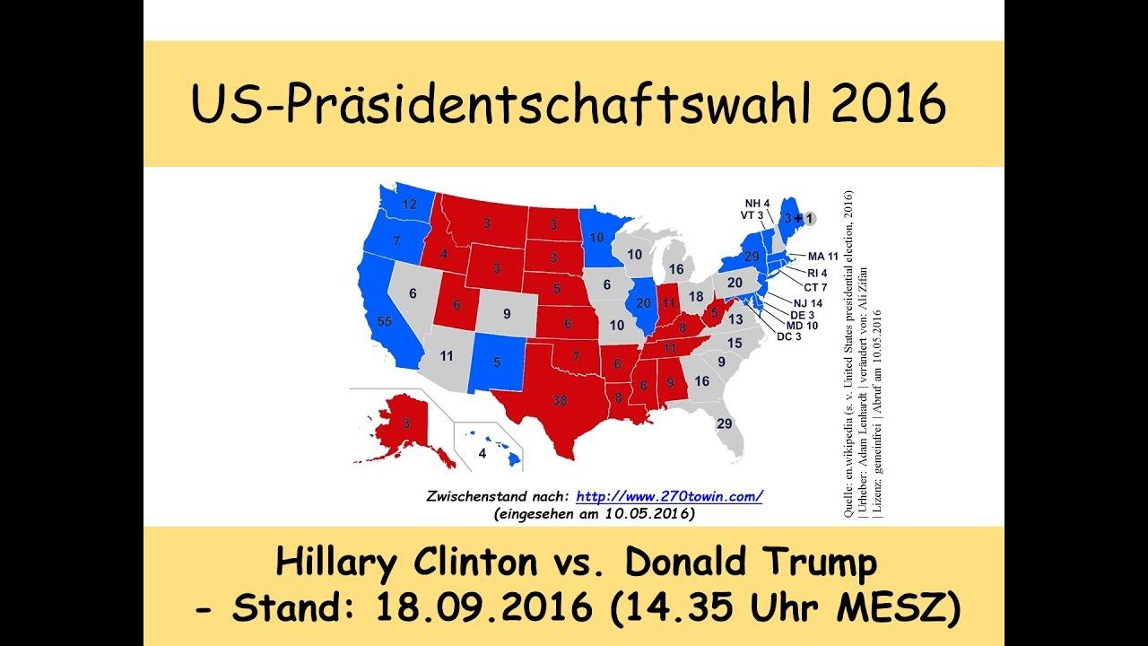 Us Präsidentschaftswahl Prognose