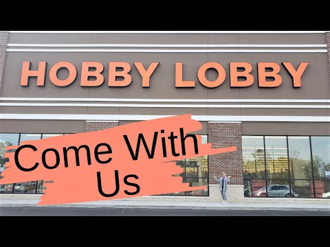 Come With Us To Hobby Lobby | Tons Of New Farmhouse Decor | Whole Store Walk Thru