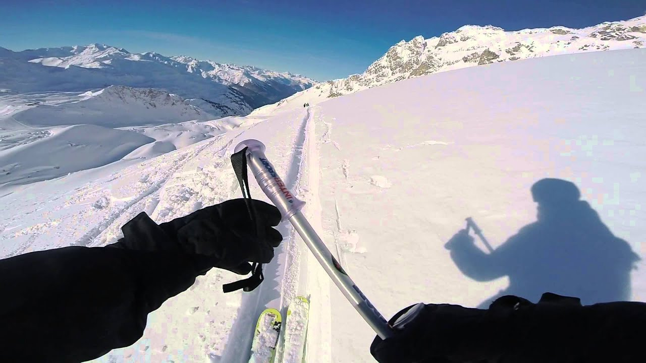 How not to use a ski pole youtube