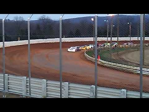 Jared Fulkroad Heat Race Selinsgrove Speedway 4-14-18 Part 2