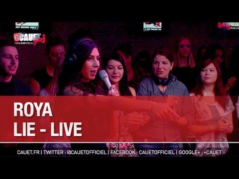 Roya - Lie - Live - C'Cauet sur NRJ