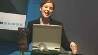 Websense In-Booth Presentation at RSA Conference 2006 by Trade Show Presenter Emilie Barta