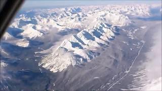 Flight to Cranbrook, BC.
