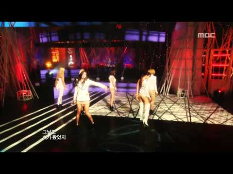 After School - Because Of You, 애프터 스쿨 - 너 때문에, Music Core 20100109