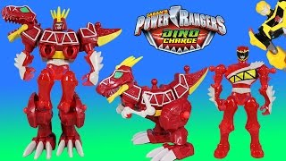 Power Rangers Dino Charge Mixx N Morph Red Ranger & T-Rex ZORD & Transformer Hero Masher Bumblebee