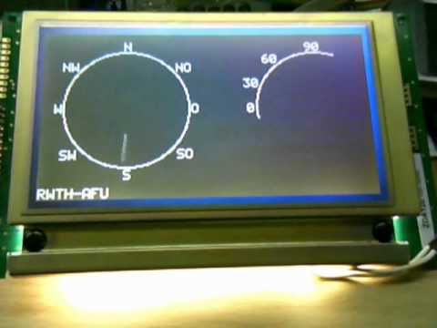 First working demo: Display of the new Antenna Positioning Control