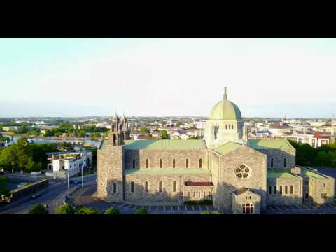 Galway City Aerial Perspective