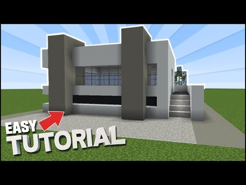 minecraft:-how-to-build-an-easy-concrete-modern-house---new-blocks