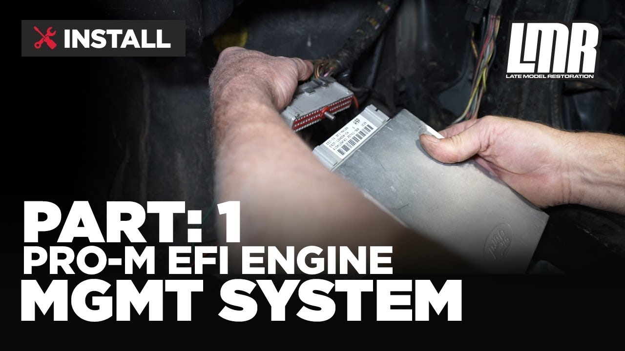 1979 1993 mustang pro m efi engine management system part 1 [ 1280 x 720 Pixel ]