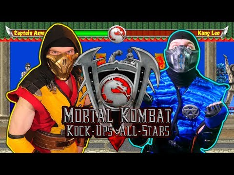 Scorpion & Sub-Zero REACT - MORTAL KOMBAT Kock-Ups 5: All-Stars (By Ric Pendragon)| MKX PARODY! thumbnail