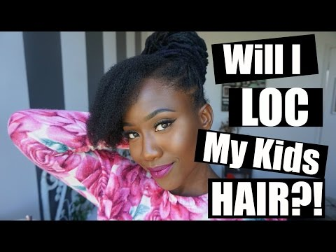 NATURAL HAIR BREAKAGE, WRAP-A-LOCS HOW TO & LOCING MY KIDS HAIR?! [LOC LETTERS V. 1] - JASMINE ROSE - 동영상